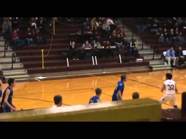 3-9-13 - Geoffrey Dunker feeds Mitch Tormohlen for 2 (Brush 29, Moffat County 18)