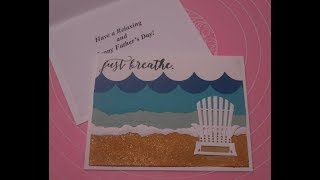Stampin' Up! Colorful Seasons Relaxing Father's Day Card