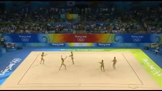 Japan 3 hoops 4 clubs 2008 olympic games Beijing