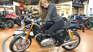 Taking My Girlfriend Motorcycle Shopping