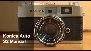 Konica Auto S2 Video Manual