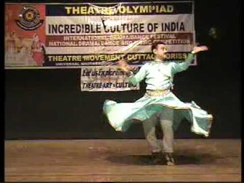 Light classical dance on hindi film song rendered by Biyendu Ghosh