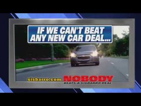 Nobody Beats a Sisbarro New Car Deal!