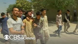 Wedding bombing casts shadow over peace talks with Taliban