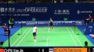 R32 - WS - Ratchanok Intanon vs Chen Xiaojia - 2013 China Open