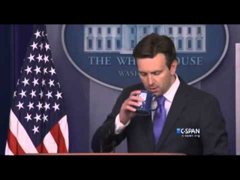 Secret Service interrupt White House Daily Briefing