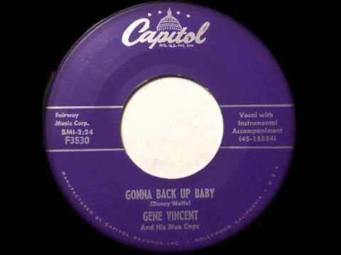 Gene Vincent - Gonna Back up Baby