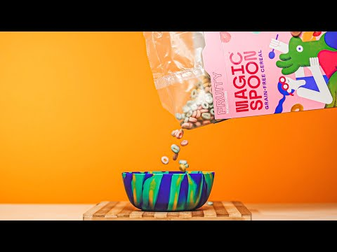 How I made this EASY Cereal Commercial at home!
