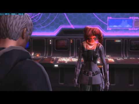 SWTOR- Dark Sith Warrior and Vette (Romance)