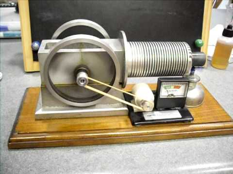 Solar Engine Stirling Hot Air