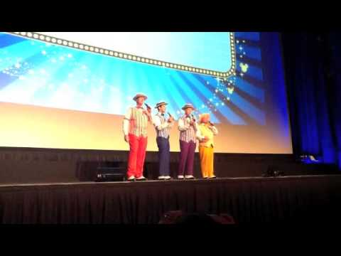 Dapper Dans --the Original Boy Band at Disney World