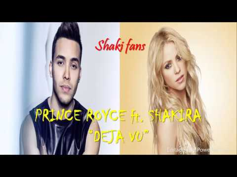 Prince Royce, Shakira - DEJA VU (Lyrics Official) ShakiFans