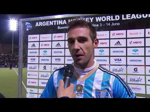 Post Match Interview Matias Parededs