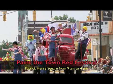 Red Skelton Parade and Festival Spot - Vincennes Indiana