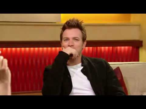 Ewan McGregor promoting Angels and Demons on ABC News