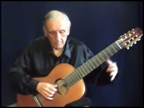 Robert de Visee - Petit Menuet (8 string guitar)
