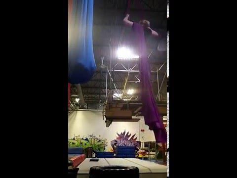 Backwards Dive Star Drop Practice