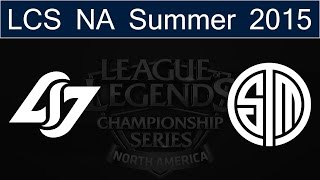 HighlightsTSM vs CLG Grand Final - Game 3|NA LCS Summer Playoffs 2015