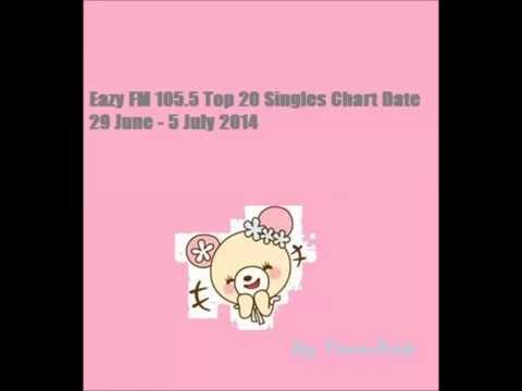 เพลงสากล Eazy FM 105.5 Top 20 Singles Chart Date 29 June - 5 July 2014