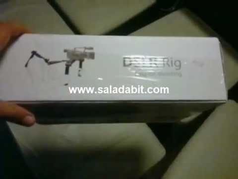 Unboxing - Shoulder Cam/Shoulder Rig/Steadycam - Suporte para filmadoras e câmeras DSLR