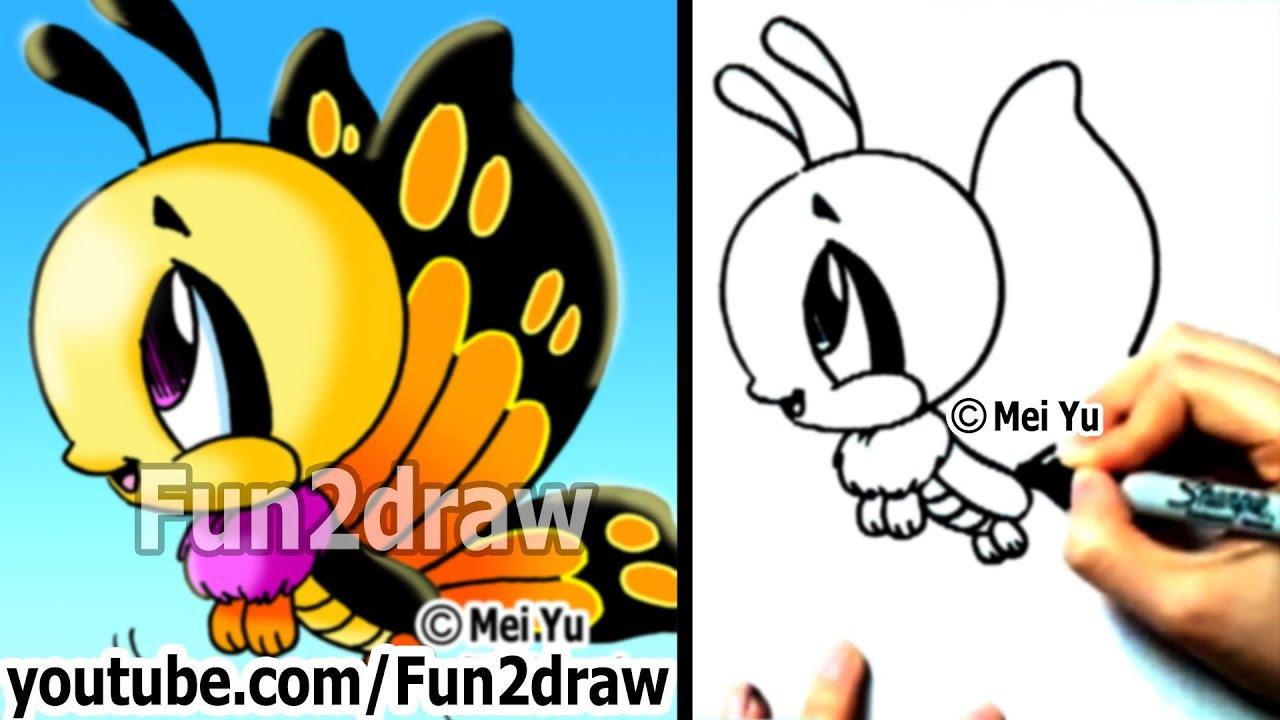 Cute Peacock Drawings Cute Drawings Fun2draw