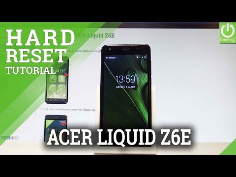 How to Factory Reset ACER Liquid Z6E - Wipe Data |HardReset.Info