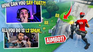 SypherPK ROASTS All Controller Players.. I Can't Believe THIS! (Fortnite Battle Royale)