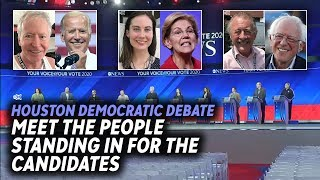 ABC News hires stand-ins for Democratic debate rehearsals