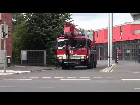 Rüstzug + Reserve-DLK + C-Dienst Feuerwehr Dortmund FW 1
