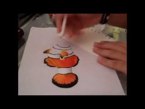 Nemo Fish Drawings Drawing a Clown Fish in
