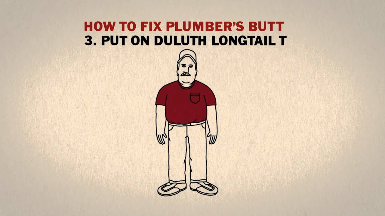 for Duluth t shirt commercial