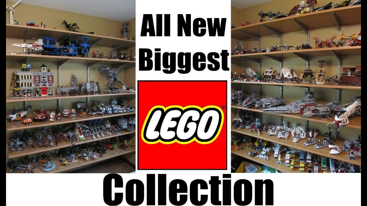 biggest lego collection 2013   youtube