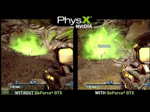 "Borderlands 2 | ""PhysX"" Gameplay Comparison Trailer | 2012 | FULL HD"