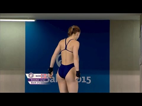 Baku2015 Platform diving final