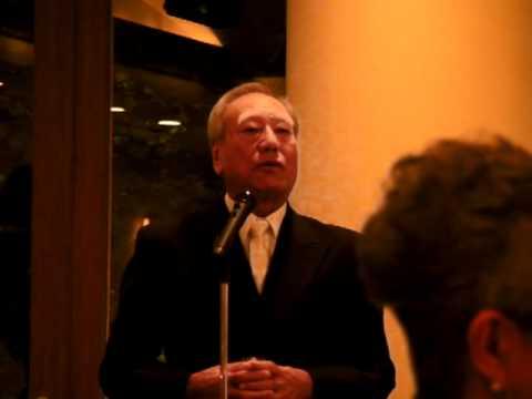 2010-10-05 小河原家永野家結婚式 沖縄のお父さんスピーチ