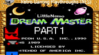 Retro Gaming Playthroughs - Little Nemo the Dream Master Part 1 - That Mysterious NES Game...