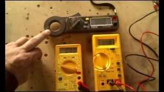Cooking | Medir intensidad en alterna y continua con polimetro o multimetro | Medir intensidad en alterna y continua con polimetro o multimetro