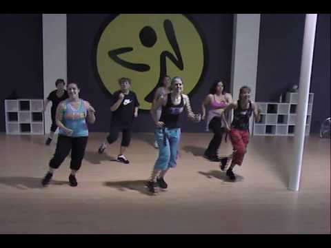 Zumba With Kim- Re: Shakira Waka Waka video