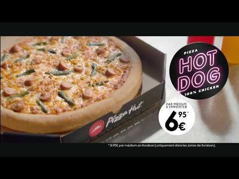 La pizza Hot Dog chez Pizza Hut (15s) thumbnail