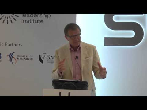 Joerg Wolle at the Singapore Business Leaders Programme 2015