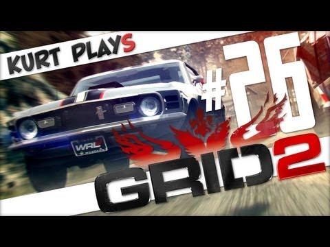 Kurt Plays GRID 2 - E26 - Old-Timey Race Announcer