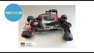 5. projekt LEGO AUTO NA DÁLKOVÉ OVLÁDÁNÍ | Dobrý Krámek.cz | Lego RC car