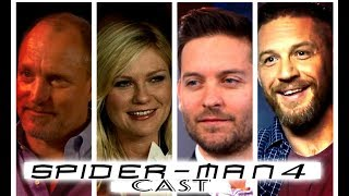 SPIDER-MAN 4 cast interview (Parody)Tobey Maguire,Tom Hardy,Kristen Dunst(W/ Spanish Subtitles)