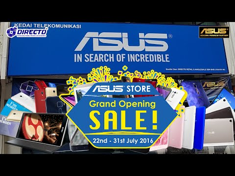 DirectD's Asus Authorised Concept Store Grand Opening