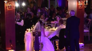 Father of the Bride's Toast at Wedding Reception Knocks it out of the Park