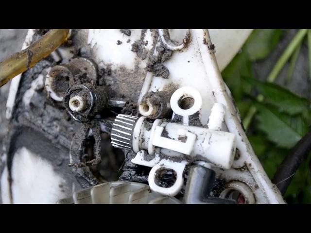 Как разобрать и отремонтировать цепную электропилу