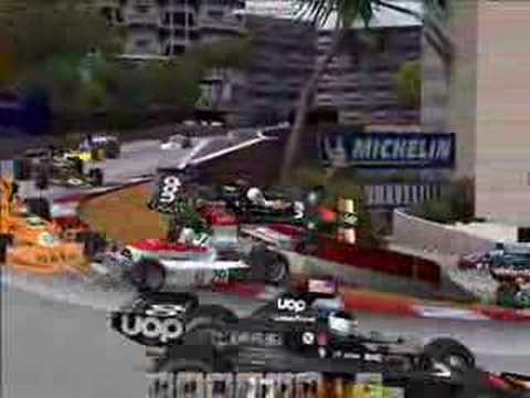 Tom Pryce gets owned at Monaco (F1 Challenge)
