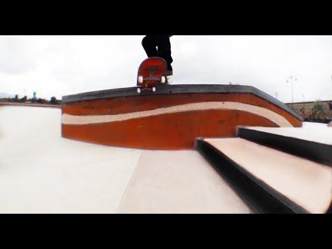 Ronson Lambert Skatepark ( Video Part ) Skateboarding 2017