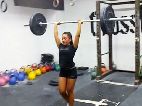Susanne Svanevik - 17 Year Old Crossfit Super Star video