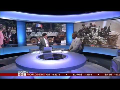 BBC World News interview with Kennedy Tumutegyereize on Central African Republic